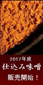 信州味噌 2017年仕込み味噌